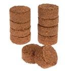 Таблетки кокосовые, d = 4 см, набор 10 шт